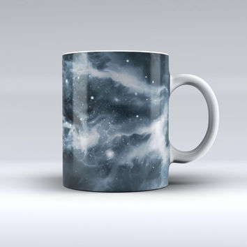 The Space Marble ink-Fuzed Ceramic Coffee Mug