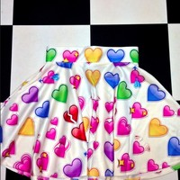SWEET LORD O'MIGHTY! LOVE LOVE LOVE SK8R SKIRT