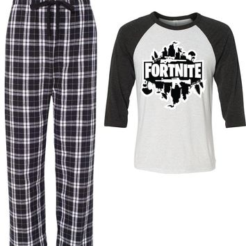 Fortnight Armory Pajamas for boys girls
