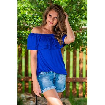 All that She Wants OTS: Royal Blue