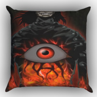 Hellsing Alucard Ova Zippered Pillows  Covers 16x16, 18x18, 20x20 Inches