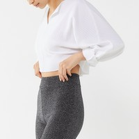 UO Sparkly High-Rise Bike Short | Urban Outfitters