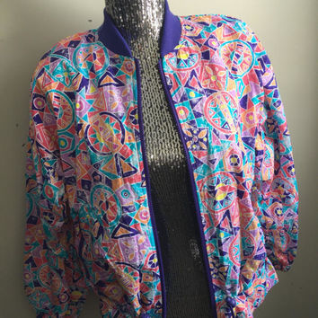 Vintage 90s Light Windbreaker Jacket