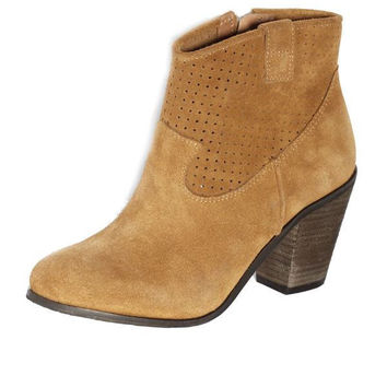 Vince Camuto Holden - Toast Suede Booties