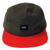 Peoples Republic of Clothing The Basics 5 Panel Hat in Grey