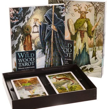 Wildwood Tarot Fortune-Telling Cards Set