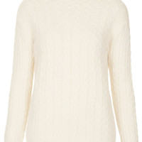 Cable Knit Jumper by Boutique