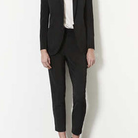MODERN TAILORING POLKADOT TUX JACKET AND TROUSERS