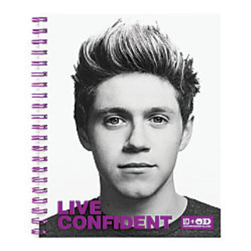 One Direction Limited Edition 1D OD Together Spiral Notebook Niall Confident Purple by Office Depot