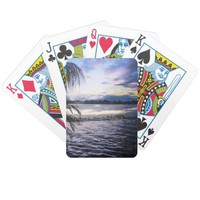 Guatemala Summer Evening Bicycle Playing Cards