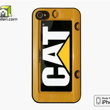 Cat Caterpillar iPhone 4S Case Cover by Avallen