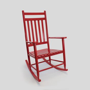 Dixie Seating Co. Penrose Wood Rocking Chair No. 67S - Lead Time  20 Business Days
