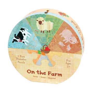ON THE FARM PUZZLE WHEEL
