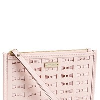 Women's kate spade new york 'cedar street - bee' perforated wristlet