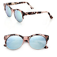 CUTLER AND GROSS - Half-Rim 52mm Cat's-Eye Sunglasses  - Saks Fifth Avenue Mobile