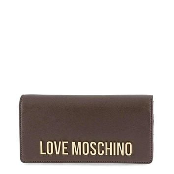 Love Moschino Women Grey Wallets