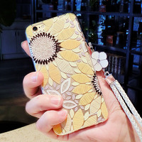 Sunflower Case for iPhone 7 7Plus & iPhone 6s 6 Plus