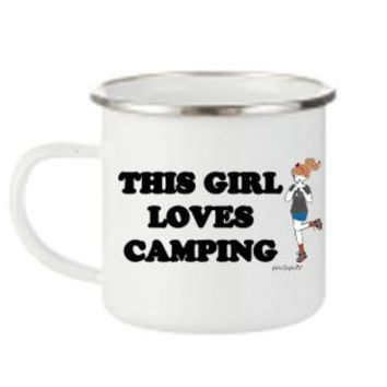 This Girl Loves Camping - Personalized Camp Cup