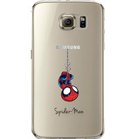 Spider Man Jelly Clear Case for Samsung Galaxy S6