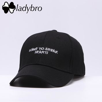 I CAME TO BREAK HEARTS Snapback Baseball Cap