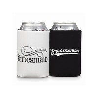 Bridesmaid & Groomsmen Can Coolers - Perfect Wedding Gift