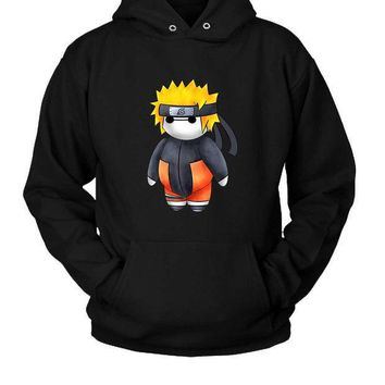 Baymax As Naruto Hoodie Two Sided