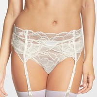 Women's Calvin Klein 'Striking' Garter Belt