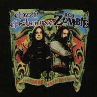 Ozzy Osbourne and Rob Zombie Merry Mayhem Tour T-Shirt, Size XL