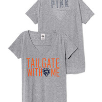 Chicago Bears V-neck Tee - PINK - Victoria's Secret