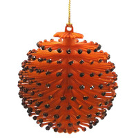 Halloween Halloween Spiny Ornament Orange Halloween Ornament