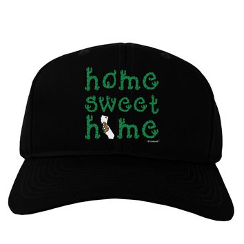 Home Sweet Home - California - Cactus and State Flag Adult Dark Baseball Cap Hat by TooLoud