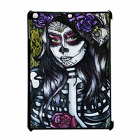 Floral Sugar Skull Day Of The Dead iPad Air Case