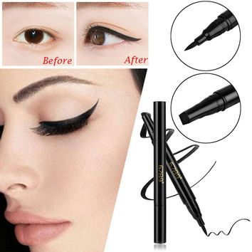 Winged Eyeliner Seal Stamp 1 Sexy Cat Eye Wing Double Head Eyeline Pencil Makeup Up Beauty Tool