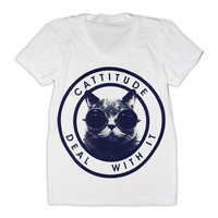 Cattitude T-Shirt (Select Size)