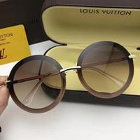Louis Vuitton Woman Fashion Summer Sun Shades Eyeglasses Glasses Sunglasses