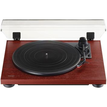 Teac 3-speed Analog Auto-return Turntable (cherry)