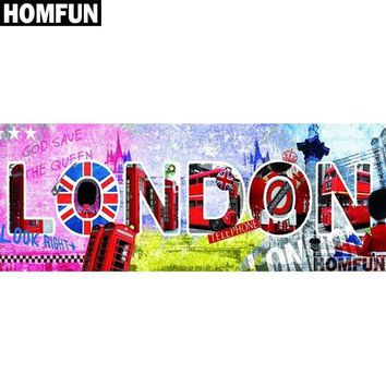 5D Diamond Painting London Kit