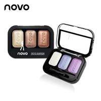 2016 New Arrivals Makeup Glitter Eye Shadow Cosmetics 4 Colors Natural Nude Matte Eyeshadow Palette With Brush