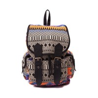 Womens Bright Aztec Backpack