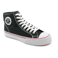 PF Flyers Center Hi Reiss Round Toe Canvas Sneakers - Walmart.com