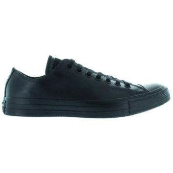 VONR3I Converse All Star Rubber Chuck Ox - Black Rubber Low Top Sneaker