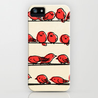 Hanging Out iPhone & iPod Case by Eric Fan