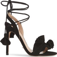 Tony Bianco Kalipso Ruffled Wraparound Sandal (Women) | Nordstrom