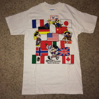 Sale!! Vintage 1982 Disney World tee shirt Mickey mouse Donal duck