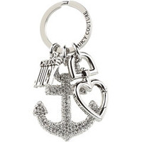 Juicy Couture Anchor Key Fob