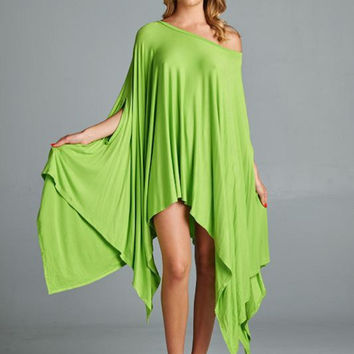 Cape Swing Top in Lime