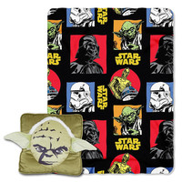 Star Wars Yoda  3D Pillow & Throw Set
