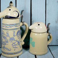 Shultz and Dooley Beer Steins , Limited Edition 1959 , Webco Utica Club Germany , 59 CDM , 59 CSM