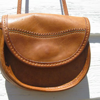 Vintage Saddle Bag - Small Crossbody Purse - Vintage G.H. Bass