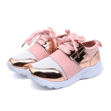 Girl Shoes Lace Up Toddler Sneakers